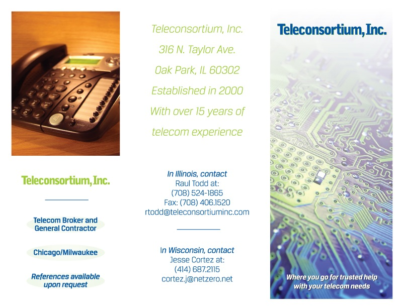 Teleconsortium Data Services Provider Chicago Small Business Chicago